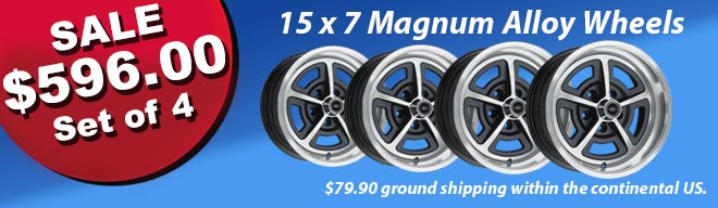 Save on Magnum Alloy Wheels!