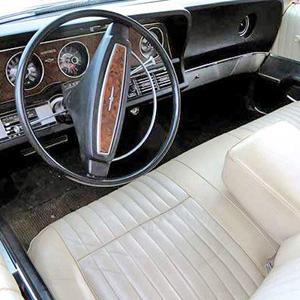 ford thunderbird 1968 interior