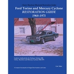 ILLUSTRATED RESTORATION GUIDE TORINO GT / MERC CYC