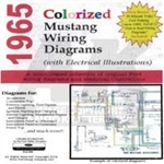 CD 65 MUSTANG COLORIZED WIRING DIAGRAMAuto Krafters