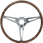 STEERING WHEEL - SIMULATED WOODGRAIN