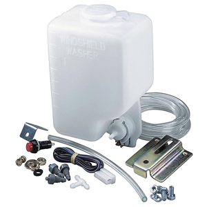 Windshield Washer Pump Kit With Reservoir Universal Ford
