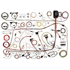 22641 1962 ford galaxie 500 wiring harness update kit 1960 64 ford galaxie