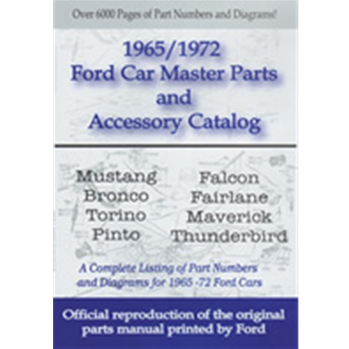 ford car master parts and accessory catalog 65 72 ford aod transmission parts diagram ford parts diagrams #42
