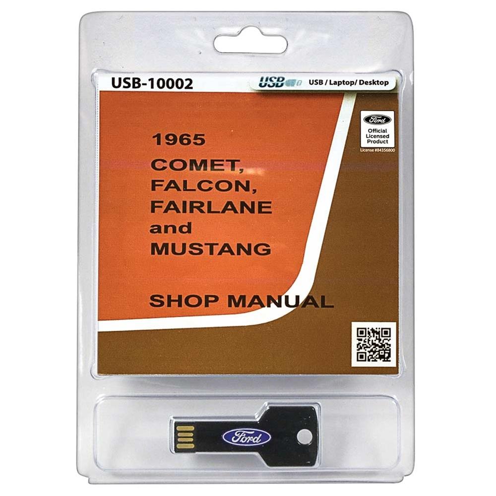 1966 mercury caliente shop manual on cd 66 comet falcon fairlane mustang