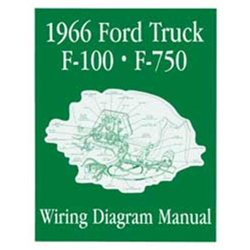 18166 1966 ford f 250 pickup wiring diagram 66 f series