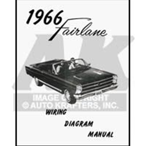 1966 Fairlane Wiring Diagram