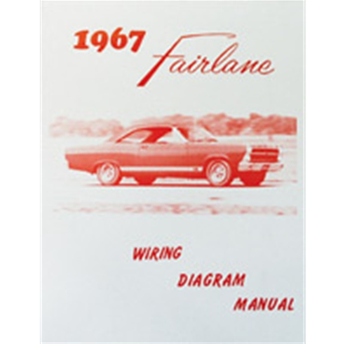 1967 fairlane wiring diagram manual ford 500 xl squire gt covers electrical  diagrams reprint softbound 12