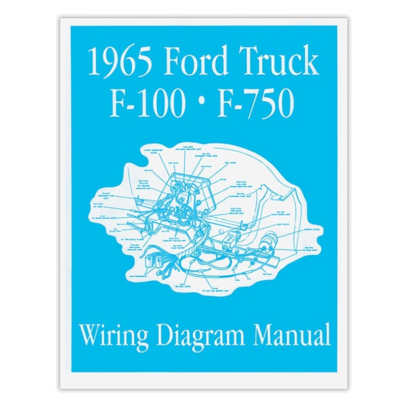 1965 Ford F250 Wiring Diagram - Electrical Systems Diagrams