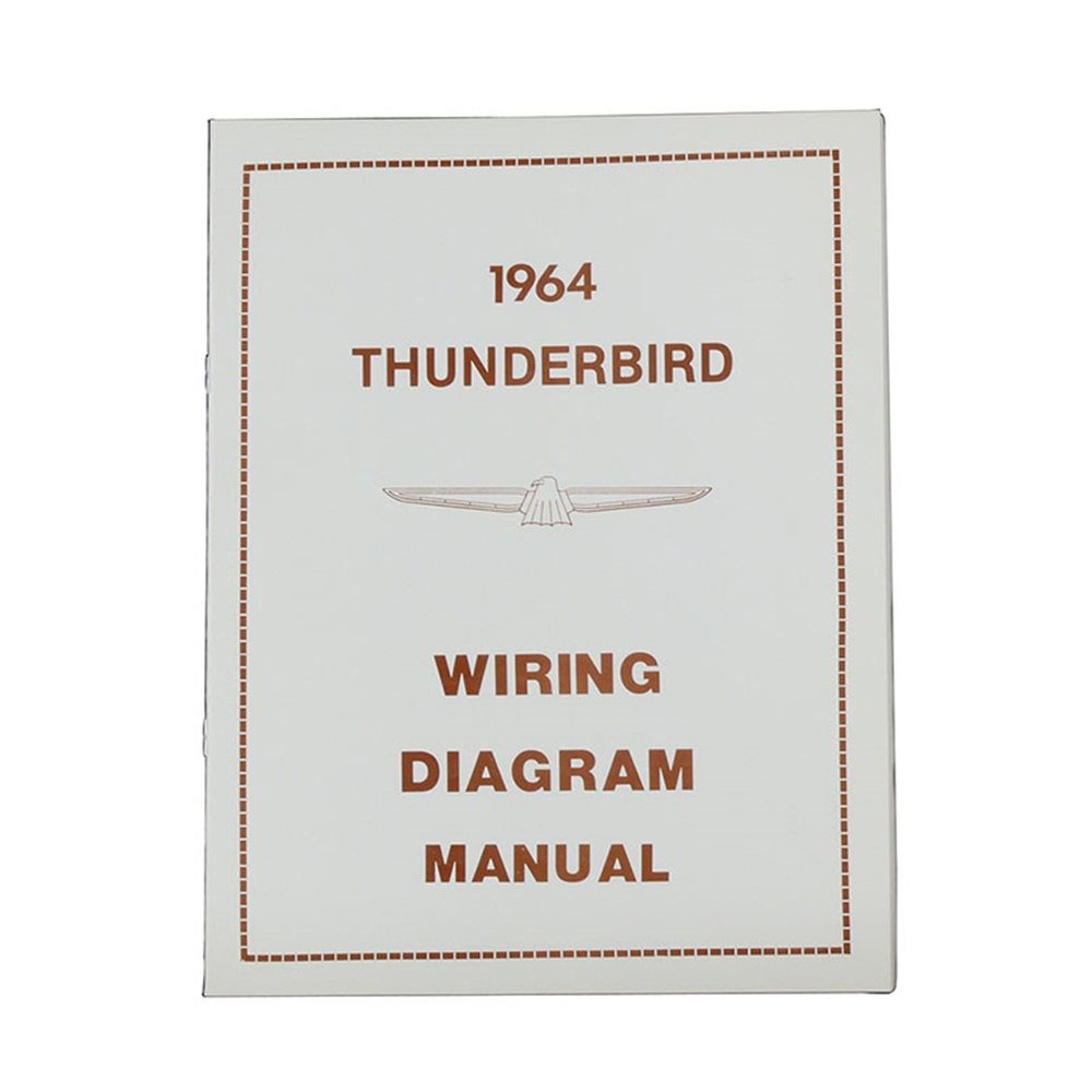 1964 Ford Thunderbird Wiring Data Diagrams T Bird Diagram Seat Manual 64 Rh Autokrafters Com Harness