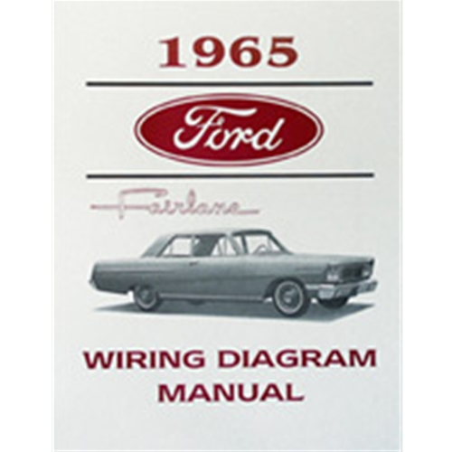 1965 ford fairlane 1965 ford fairlane wiring diagram manual reprint Wiring Diagram for 1965 Plymouth Barracuda
