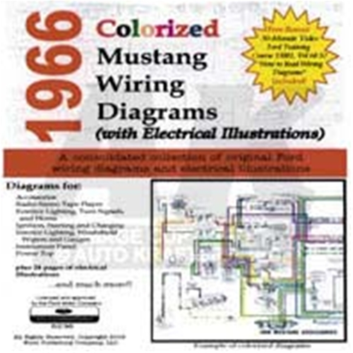 20257 cd 66 mustang colorized wiring diagram