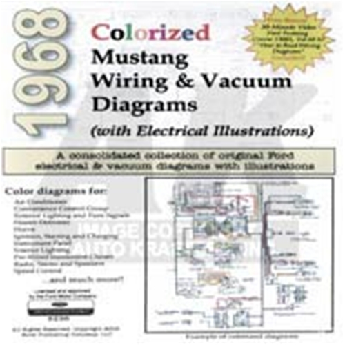 1968 ford mustang cd 68 mustang colorized wiring vacuum diagram rh autokrafters com