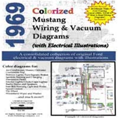 cd 69 mustang colorized wiring vacuum diagram 3-way switch wiring diagram  1965 colorized wiring diagrams cd