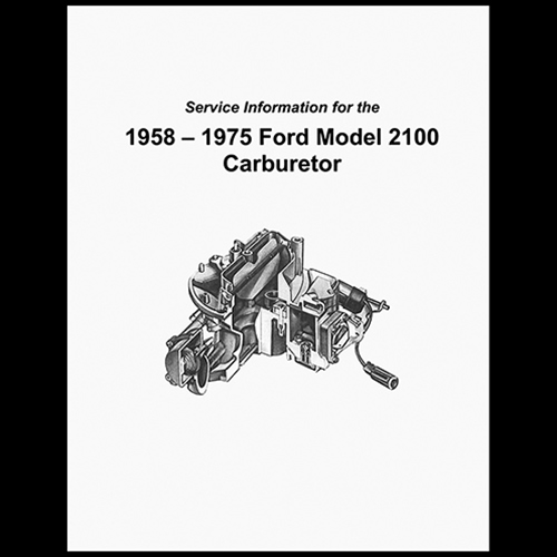 service manual 2100 2v carburetor autolite motorcraft 2100sm rh autokrafters com walbro carburetor service manual mercruiser carburetor service manual