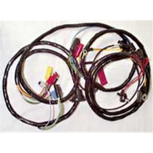 wiring harness 1967 ford mustang without tach or fog lights shelby