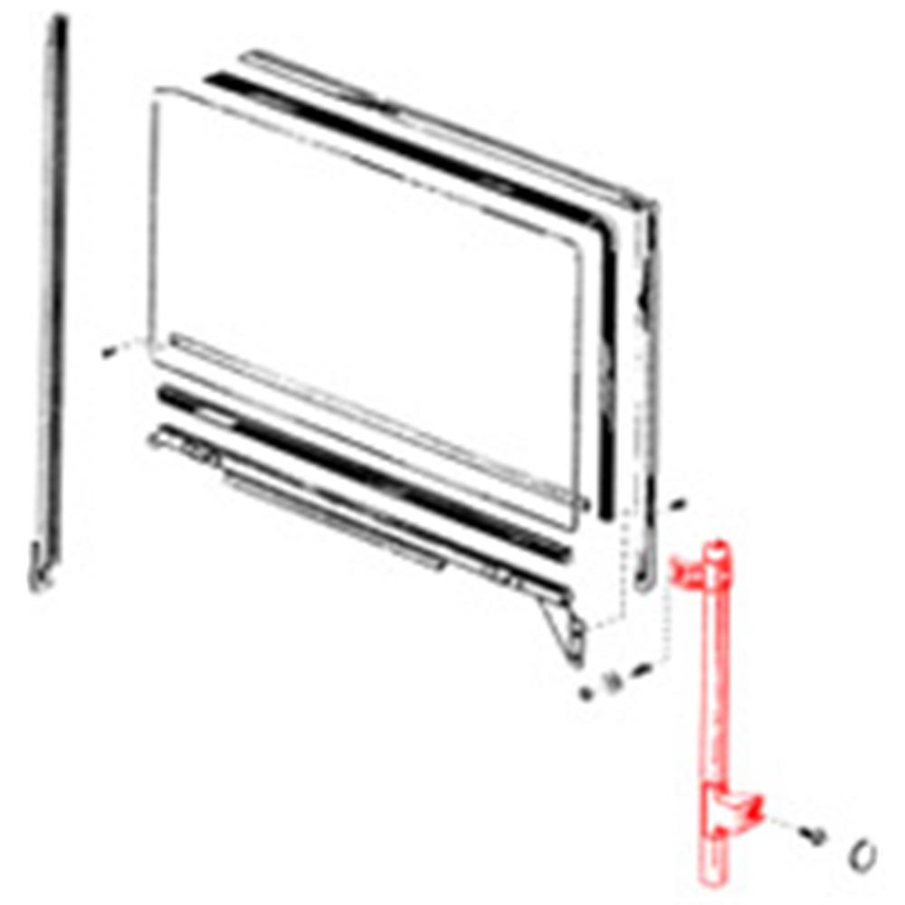 Door Glass Run Lock Side 1962 Galaxie 2 Door Hardtop Convertible