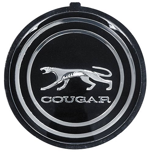 1967 Mercury Cougar Emblem Steering Wheel Hub 67 Cougar