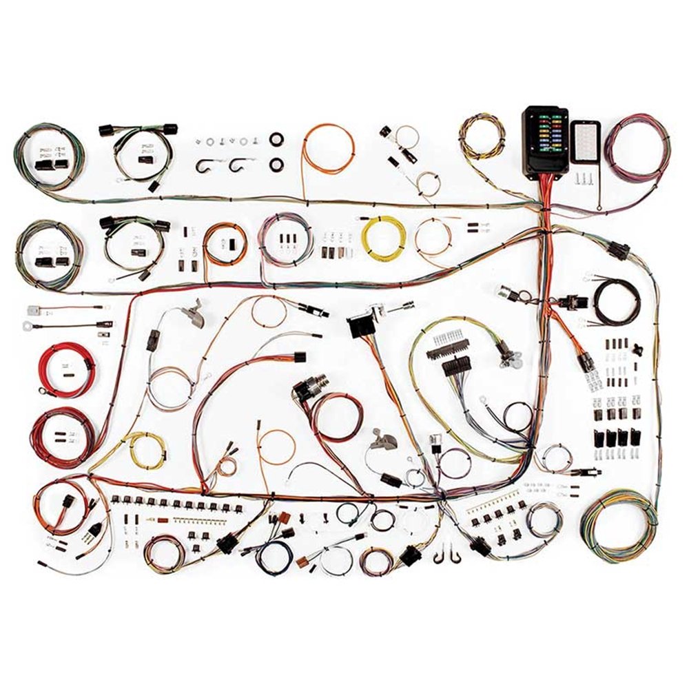 1962 Ford Galaxie 500 Wiring Harness Update Kit 1960 64 California Wire 1961 Monterey Country Squire