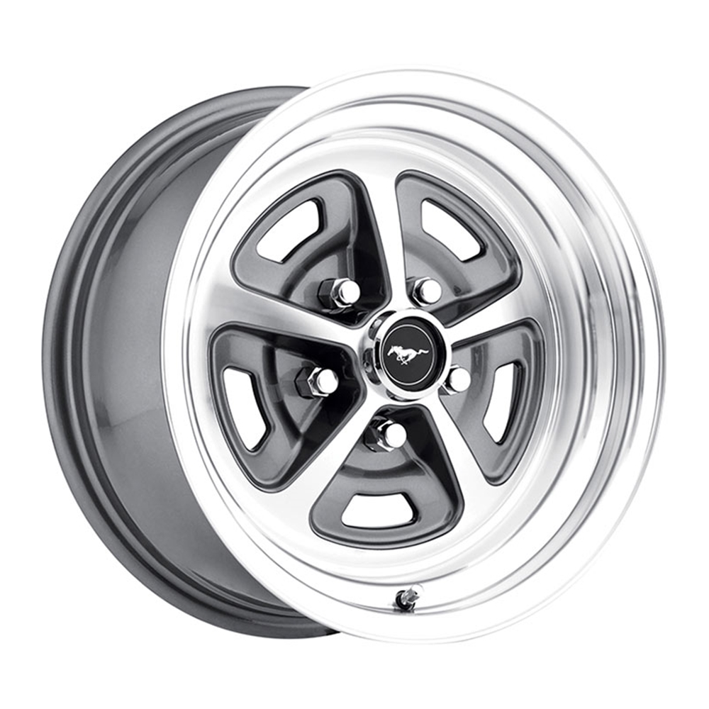 Magnum 500 alloy wheel 64 73 ford mustang more 5 lug legendary 15 x 7
