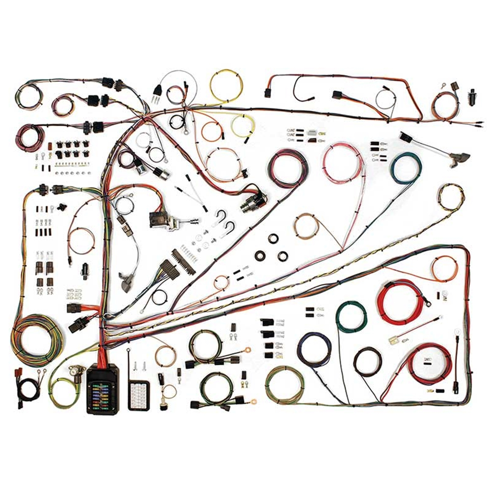 wiring harness update kit 1962-65 ford fairlane 500 xl 1962-63 meteor  custom s-33