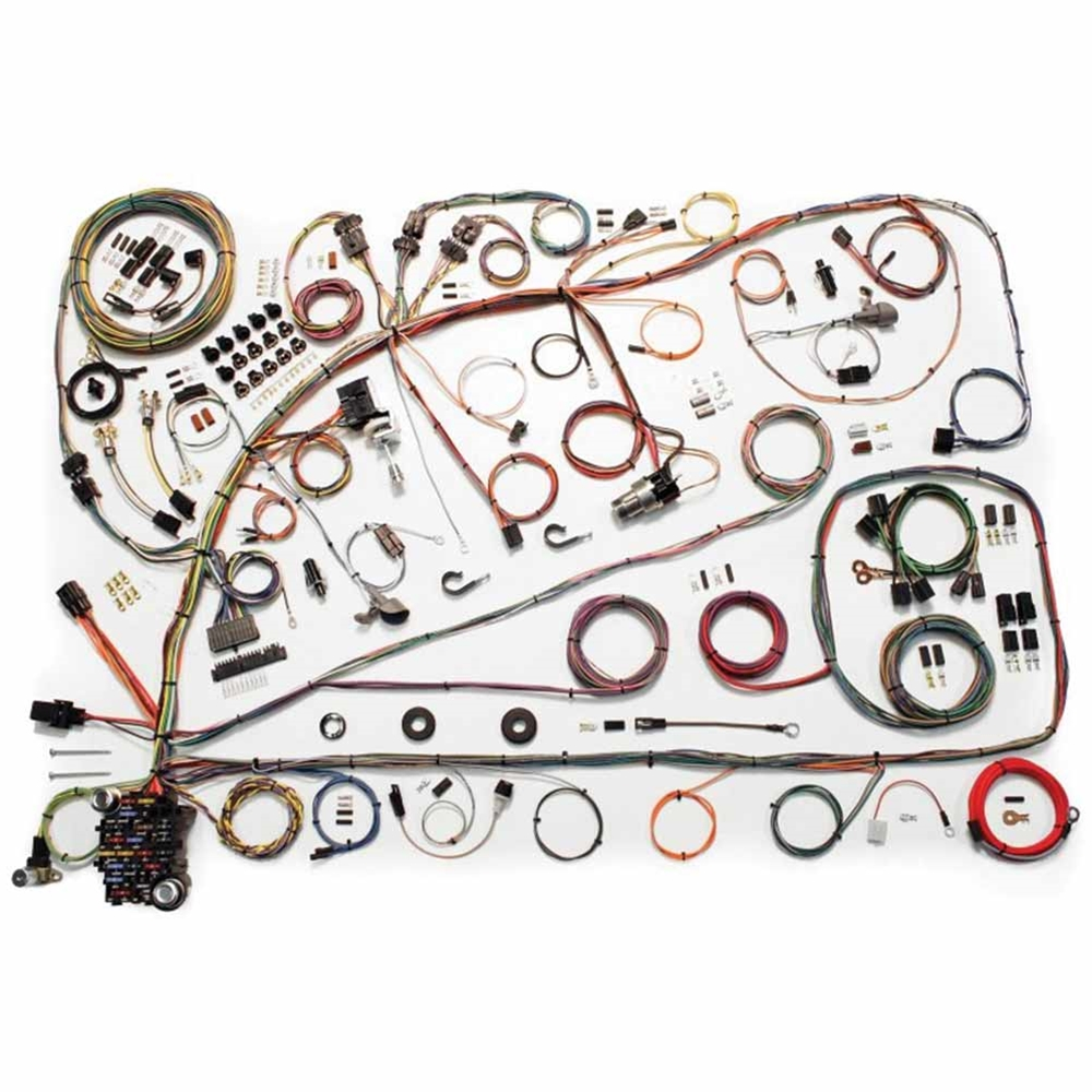 1966 mercury cyclone wiring harness update kit 1966 67 ford fairlane