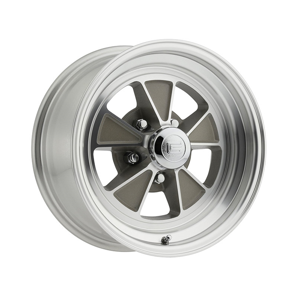 Alloy wheel 1965 ford mustang shelby gt 350 style gt5 15 x 7 5 lug
