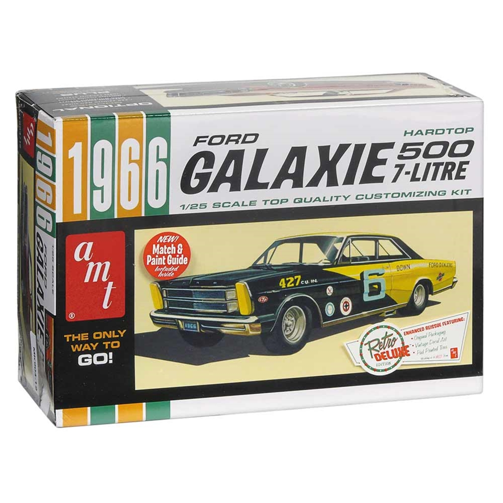 MODEL KIT 1966 GALAXIE 500 7-LITRE WITH CUSTOMIZING PARTS 1:25 SCALE