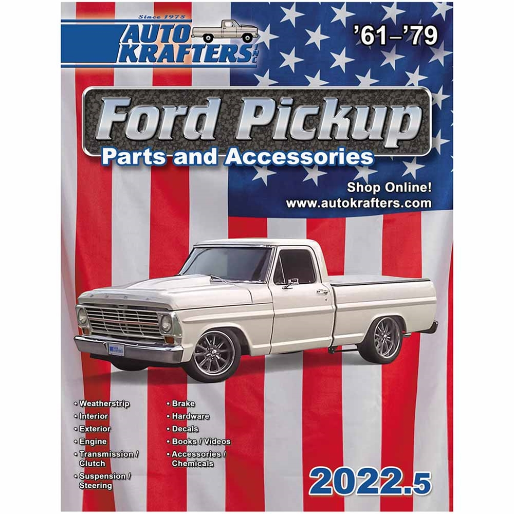 1967 Ford F 100 Pickup Catalog 1961 79 Series Usa Catustr 250 4x4 Truck For Sale
