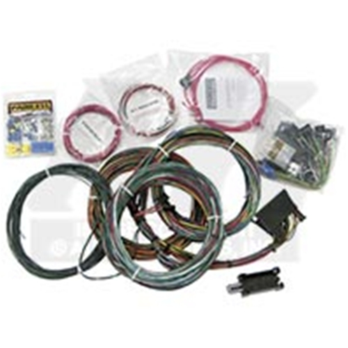 3456 1963 ford fairlane universal chassis wiring harness 60 76 ga fl to 1963 ford falcon wiring harness at soozxer.org