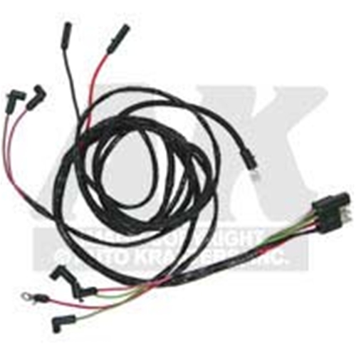 engine gauge feed 1963 ford falcon v8 futura sprint wiring harness  electrical wires (c3dz-14289b)  auto krafters