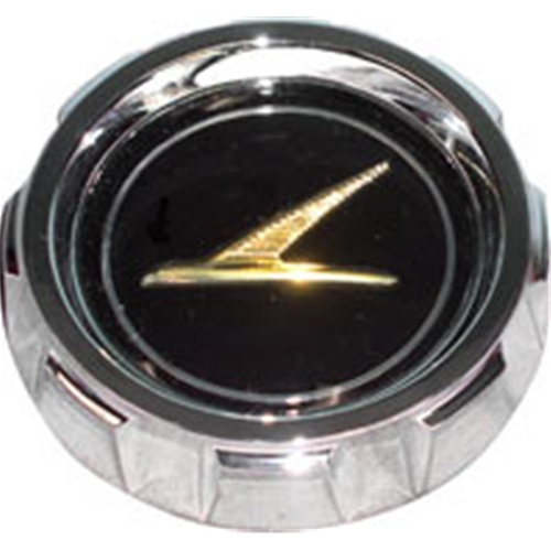 Gas Cap  Ford Futura Fuel Filler Lid Neck Top Notched Edge Gold Falcon On Black