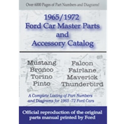 ford car master parts and accessory catalog 65-72