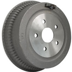 "BRAKE DRUM - FRONT 10"" FINNED 1962-71 FAIRLANE, 1964-70 FALCON, MUSTANG (BD1634)"