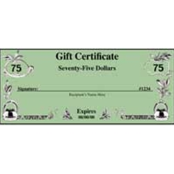 GIFT CERTIFICATE $75.00 AUTO KRAFTERS FORD (GIFT75)