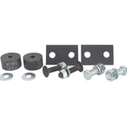 1956 FORD TRUCK RADIATOR SUPPORT PAD KIT                             B6C-8125-S