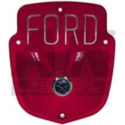 1956 ford f series taillight lens 55 56 f series shield for Garage ford lens