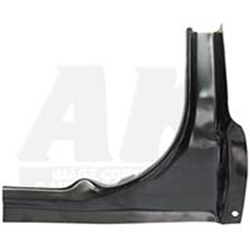 TRUNK REAR CORNER 1964-66 FORD MUSTANG COUPE HARDTOP FASTBACK CONVERTIBLE 2+2 SHELBY GT-350 RIGHT-HAND SIDE (M142R)