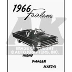 1966 FAIRLANE WIRING DIAGRAM MANUAL FORD 500 XL SQUIRE GT ...