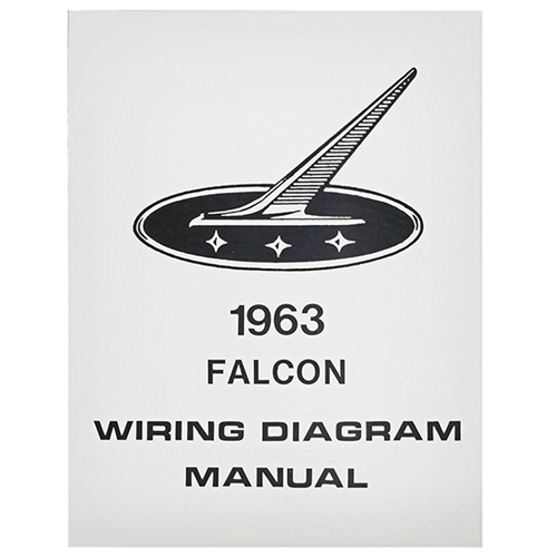 1963 Falcon Wiring Diagram Manual Ford Sedan Hardtop