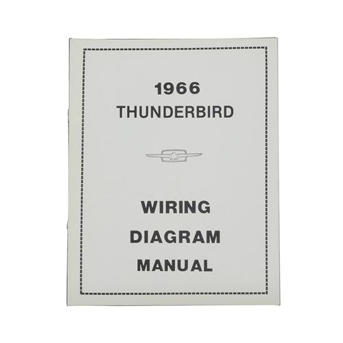 1966 Ford Thunderbird Wiring Diagram Manual