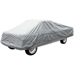 CAR COVER 1961-79 FORD F-100 F-150 F-250 F-350 PICKUP LONG BED 3-LAYER CONSTRUCTION CUSTOM-FIT MULTIBOND GRAY (C1739SG)
