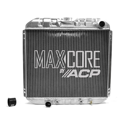 RADIATOR 1969-70 FORD MUSTANG 1970-73 MAVERICK 70 COUGAR 250 302 351 HIGH-PERFORMANCE 2-ROW MAXCORE A/T COOLER (339-AMX)