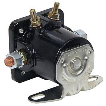 starter solenoid 1960 70 ford galaxie falcon 1962 70 fairlane 65 73 mustang others black. Black Bedroom Furniture Sets. Home Design Ideas