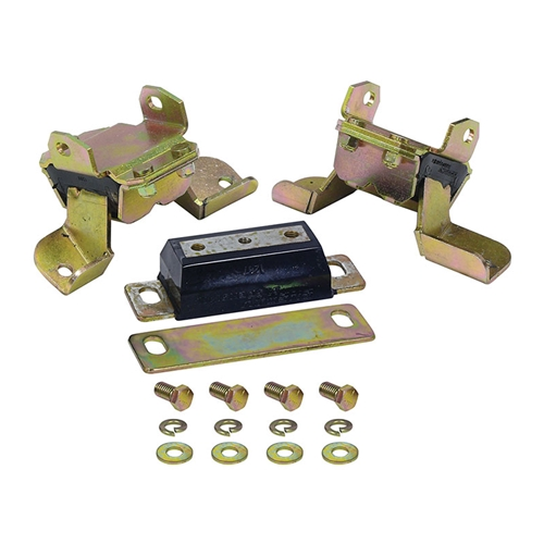ENERGY SUSPENSION MOTOR & TRANS MOUNT SET 1964-70 FORD FAIRLANE 67-72 MUSTANG 66-70 FALCON & OTHERS 289 302 351 (41137G)