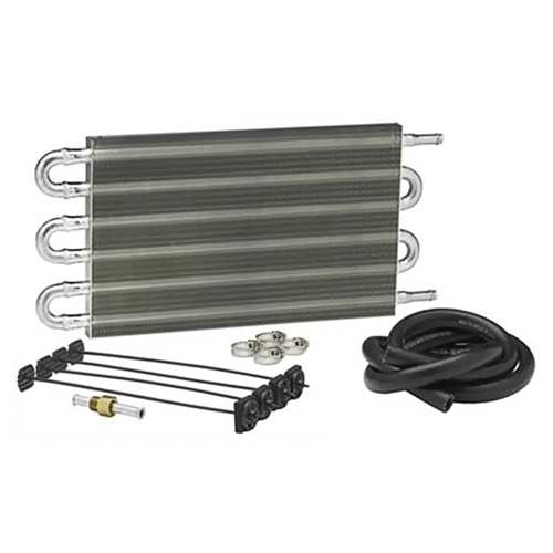 TRANSMISSION OIL COOLER 1960-70 FORD VEHICLES WITH GROSS VEHICLE WEIGHT UP TO 16,000 LBS ALUM TUBE AND FIN STYLE (TC16)