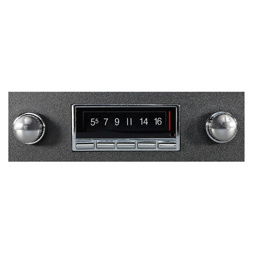AM/FM RADIO 1965-78 FORD MUSTANG 60-70 FALCON 68-79 F-100 PICKUP 55-66 TBIRD & MORE USB LCD BLUETOOTH 300W STEREO (RAD7)