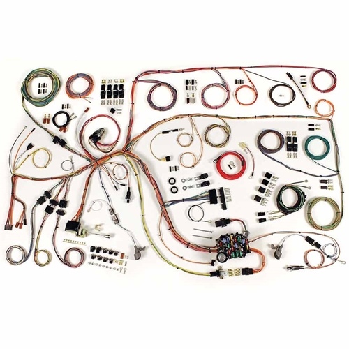 1964 mercury comet wiring harness update kit 1960 64 ford falcon Mercury Outboard Control Wiring