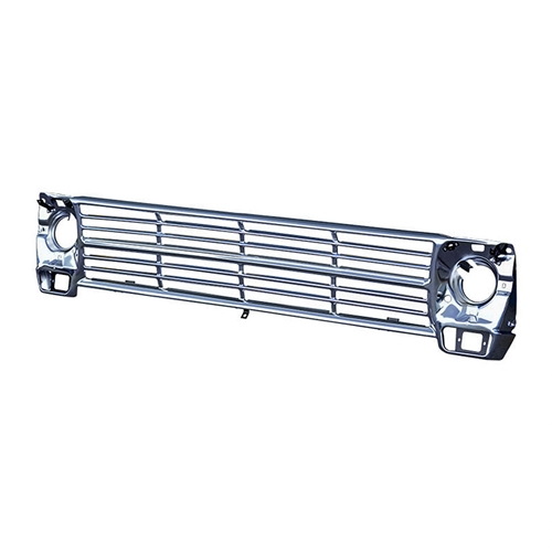GRILLE 1968-69 FORD F-100 F-250 F-350 PICKUP TRUCK 1967 REPLACEMENT ONLY BRIGHT ANODIZED FINISH ALUMINUM (C9TZ-8200A)