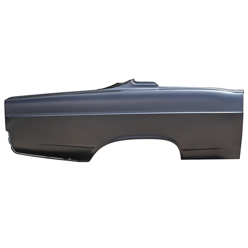 QUARTER PANEL 1966 FORD FAIRLANE 2-DOOR HARDTOP 500 XL GT EDP-COATED STEEL RIGHT-HAND PASSENGER SIDE (C6OZ-6327840A)